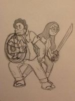 Steven And Connie by Link5567