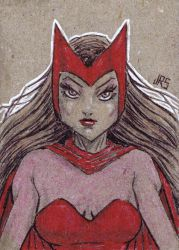 Scarlet Witch [sc1] by JRS-ART