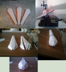 Sailor Moon - Sailor Saturn Silence Glaive Prop #4 by digitalAuge