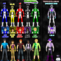 Renverse Power Rangers: Phantom Fighters by TerenceTheTerrible