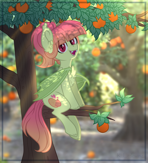 - Are you looking for oranges too? by Kate-Littlewing