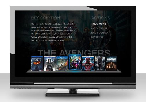 TV Streaming Concept by EmilioEx