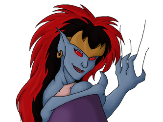 Demona has your heart by ViperSword