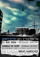 Human Degree - DEMO - Poster by AS-I-CRY