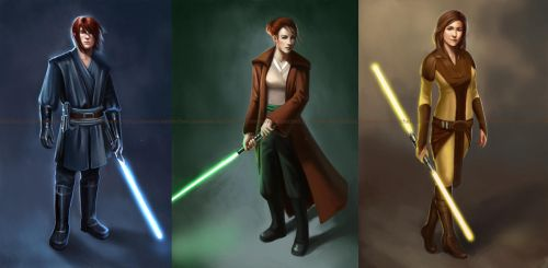 Jedi Commissions by acidlullaby