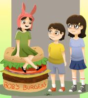 The Belcher Kids by eas123