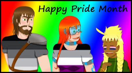 Happy Pride Month 2018 by KathrynMills