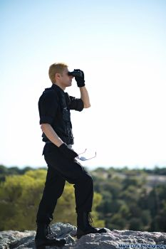 Turning Point #3 (Cosplay: Albert Wesker #22) by IamWesker