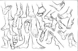 Feet Practice by kmccaigue