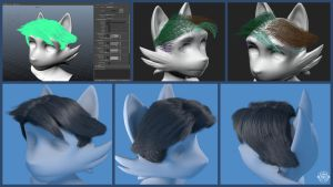 Hair Experiments 2014 by chemb0t