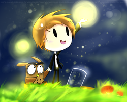 The Lightning bugs by Lucas-and-dreams