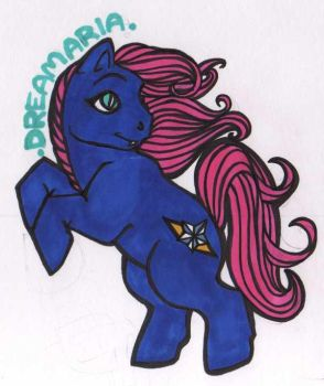 Dreamaria MLP Badge by quixoticheartsong
