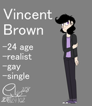 : Vincent Brown : by Serri765