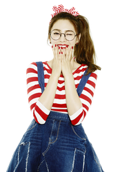 Nana (Orange Caramel) PNG Render by classicluv