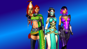 Paladins (1 - Cassie, Ying and Skye) by AdeptusInfinitus