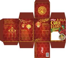 Corn Flakes Festive Packaging by hyoori