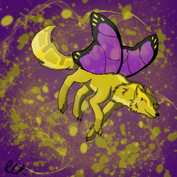 Flight of the Butterfly by WolfHeart225