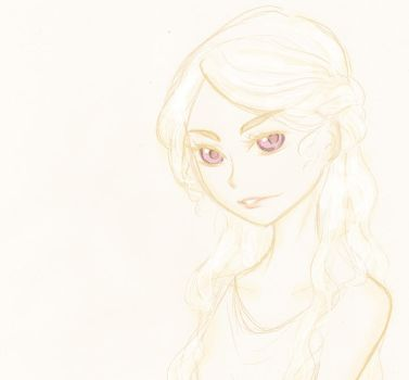 Sketch-GOT-Daenerys by FuranBi