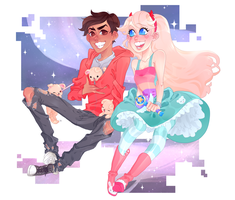 star vs the forces of evil by KowaiRazor