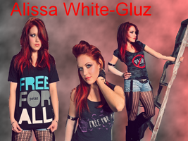 Alissa White-Gluz WP by VegetaNiko