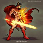 Shin, The Warrior Commission by humbuged