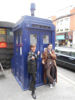 Ninth and Tenth Doctor in London by PilarErika