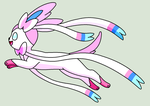 Jumping Sylveon Base by ZwolfieLeaf