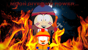 [PNG]: MOON GIVES ME POWER... (Collab!) by Spongecat1