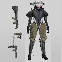 Robot Concept by G3blue