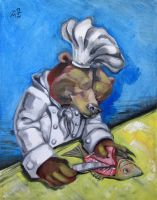 Carnivorous Chef - The Bear by nellems