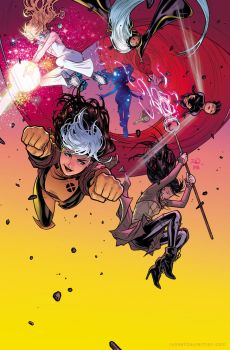 A-Force #1 cover by RDauterman