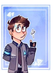Connor,the android sent by cyberlife! by rainbow223