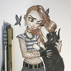 Delirium and Barnabas by ChrissieZullo