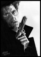 Sin City- Dwight - Clive Owen by Colej-uk