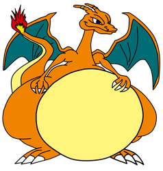 Fat Charizard by Sharpe-Fan