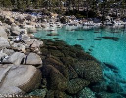 East Shore winter, Lake Tahoe by MartinGollery