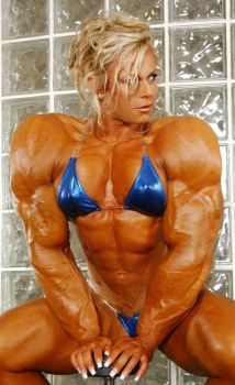 Christine Roth Mega Muscle by fatehound45