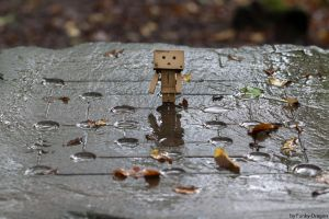 Danbo can't play. by Funky-Dragon