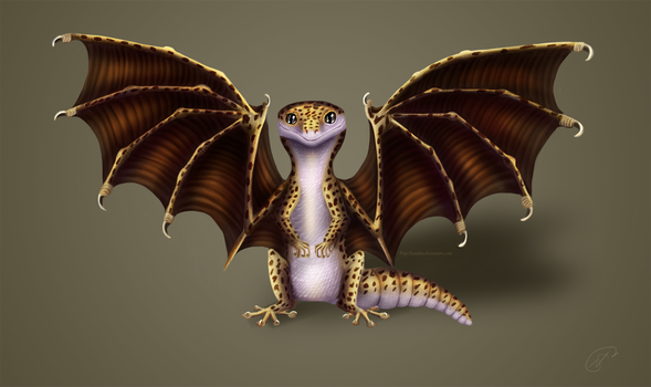 Leopard Gecko Dragon by Noxsha