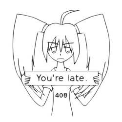 408 Error-tan - Uncolored by foxhead128