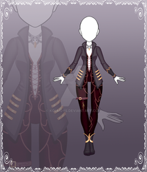 [Close] Adoptable Outfit Auction 117 by Kolmoys