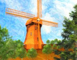 Windmill by H-o-t-G-o-d