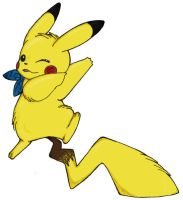 Pikachu - Coloured by buttstrong