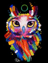Owl by TooMuchColor