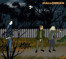 Halloween 2018 by scribbleNscratch