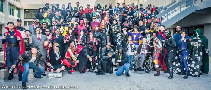 Marvel Movies and TV Group Shot by R-Legend