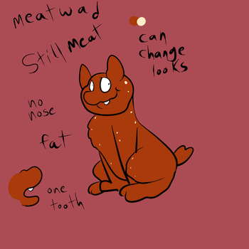 Meatwad Ref by Radicalhat