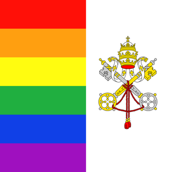 Vatican LGBT flag by TheFlagandAnthemGuy