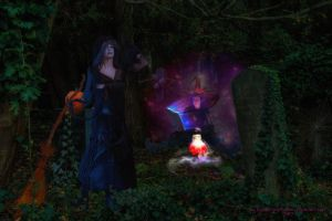 When Witches Come Together by Branka-Johnlockian
