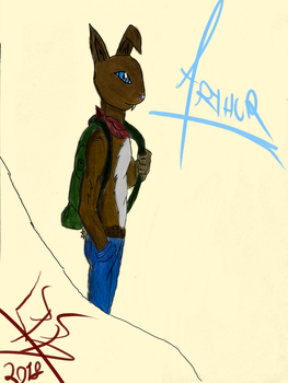 Arthur Final Version by ThreeDeeDeemon